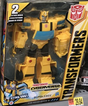Cyberverse Ultimate Class Bumblebee Sighted at US Retail