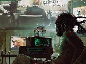Optimus Prime in Cyberpunk 2077