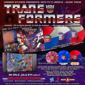 G1 Transformers Original Score Repress from Enjoy the Ride Records, plus Retail Variants