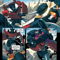 Transformers News: Guido Guidi 5 Page All Hail Megatron #12 Preview