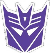 Autobot / Decepticon Logo Car Magnets and Shield Stickers!