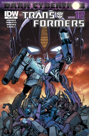 Transformers News: Sneak Peek: IDW Transformers Dark Cybertron Finale (DC 12) Preview