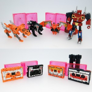 Full Reveal of TakaraTomy Mall Exclusive Transformers Masterpiece Set: Stripes, Nightstalker, Wing Thing, Enemy