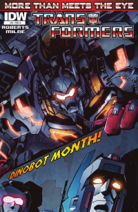 Transformers News: Transformers: More Than Meets The Eye Ongoing #8 Preview
