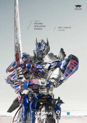 Comicave Studios Transformers Collectable Figures Age of Extinction Optimus Prime New Images, Video