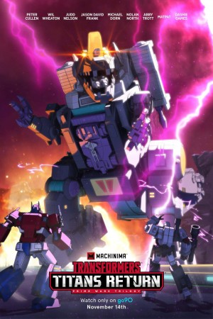 New Machinima Transformers Titans Return Poster featuring November 14th Premiere Date