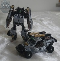 Transformers News: HFTD Scout Dune Runner Repaint Revealed