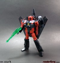 RF-002X Mach Red Limited Edition Kit at Renderform