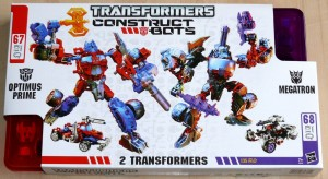 Official Transformers Constructbots Soundwave and Ultimate Set Optimus and Megatron Instructional Videos