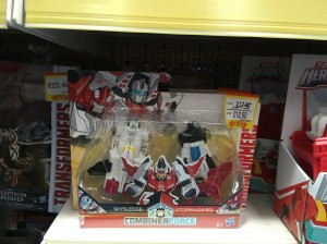Transformers News: Transformers Robots in Disguise Combiner Force Crash Combiner Skyhammer Spotted at UK Retail
