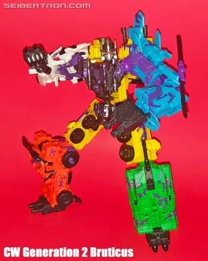 Designer Desk - Transformers Generations Combiner Wars G2 Bruticus Set