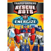 "Transformers News: Transformers: Rescue Bots ""Energize"" DVD Listed for Pre-Order"