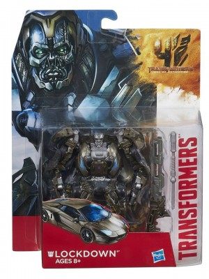 In-Package and Stock Images - Transformers: Age of Extinction Deluxe Lockdown