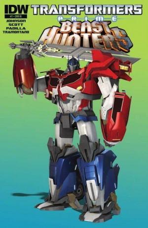 Transformers News: IDW Transformers: Prime Beast Hunters #7 Review