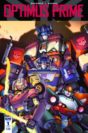 John Barber Interview on Upcoming IDW Transformers: Optimus Prime Ongoing Series
