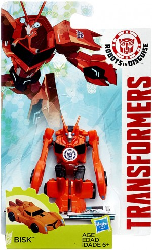 Video Review of Robots in Disguise Legion Class Bisk
