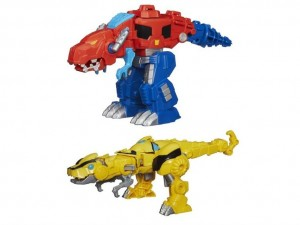 Transformers News: New Images of Transformers: Rescue Bots Rescan Series 2 Optimus Prime & Bumblebee