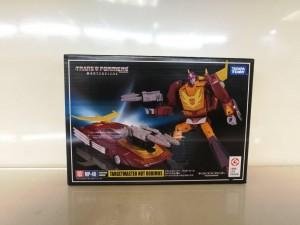 Transformers News: Box Image of Takara Tomy Transformers Masterpiece MP-40 Targetmaster Hot Rodimus