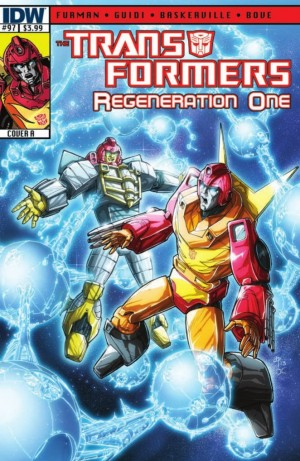 IDW Transformers: ReGeneration One #97 Preview