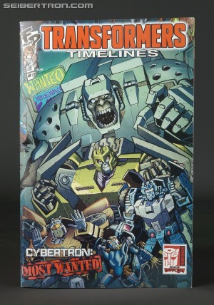 BotCon 2015 - Souvenir Toy Reveals and Convention Comic Cover