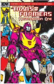 Transformers News: Transformers: Regeneration One #81 Preview