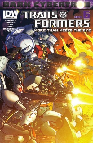 Transformers News: IDW Transformers: More Than Meets the Eye #25 (DC6) Review