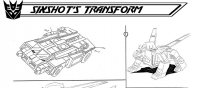 Transformers News: Sixshot Character Transformation (Part 1)-Ark Addendum