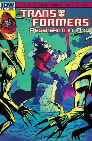 Transformers News: IDW Transformers: ReGeneration One #97 Review