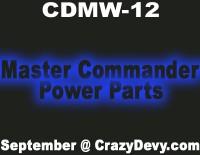 Crazy Devy Update: Master Commander Power Parts