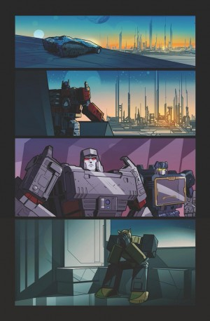 Transformers News: Transformers Issue #4 One-Page Textless Preview