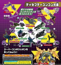 Transformers News: Takara Tomy Transformers Prime Arms Micron Super Weapon Combo Charts