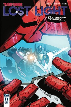 Transformers News: Variant Covers for IDW Transformers: Lost Light #11 by Roche / Burcham, Milne / Perez, Lafuente