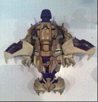 Transformers News: Transformers Prime Voyager Megatron In-Hand Images
