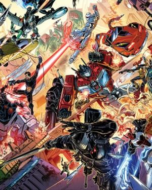 Transformers News: IDW Hasbro Comics Crossover: Revolution - Chris Ryall Interview, John Barber Clarifications
