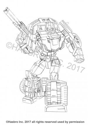 Transformers News: Ken Christiansen Posted More Generations (Combiner Wars) Packaging Art