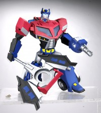 Transformers News: TFA Voyager Optimus Prime $11.99 at HTS