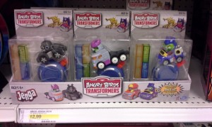 Angry Birds Transformers Toys Found at Canadian Retail