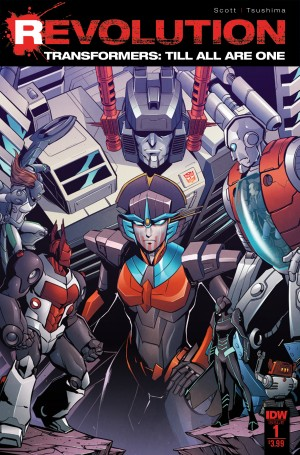 IDW Transformers October 2016 Solicitations: Rise in Revolution