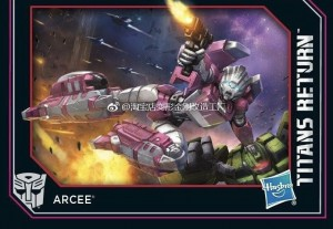 Transformers News: New Image Revealed for Transformers Titans Return Arcee