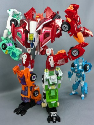 Transformers News: Additional Images of Transformers Generations Selects Lancer in Combined Form