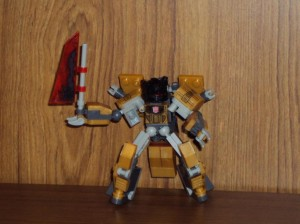 Transformers News: Pictorial Review - Kre-O Transformers Battle Changers Grimlock