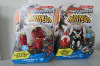 "Transformers News: Transformers Prime ""Beast Hunters"" Deluxe Wave 1 and New Bot Shots Stunticons and Autobot Polar Assault Sets Sighted at Retail"