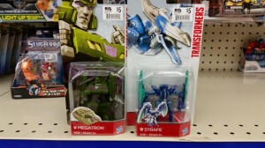 Transformers Legion Class Strafe and G2 Megatron Found at Retail
