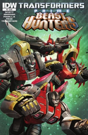 Transformers News: IDW Transformers: Prime Beast Hunters #6 Preview