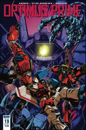 Transformers News: Cover Variant for IDW Optimus Prime #19 by Kei Zama / JP Bove