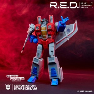 New Images of RED Bumblebee and Starscream from Hasbro