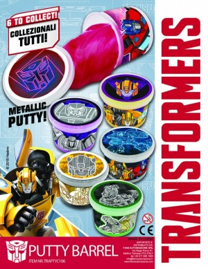 Transformers News: New Transformers-Themed Putty from ATN Vending
