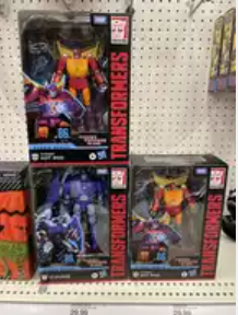 Transformers Studio Series 86 Voyagers and Deluxes Found at US Retail