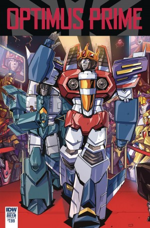Transformers News: iTunes Preview for IDW Transformers Optimus Prime Annual - Starscream: The Movie