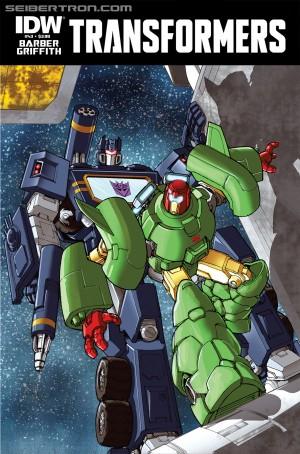 Sneak Peek - IDW The Transformers #43 iTunes Preview